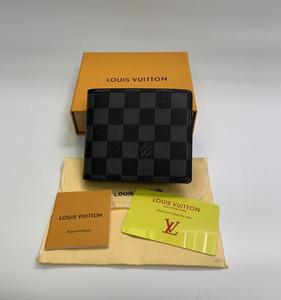 MB lujo Cartera de piel caliente carpeta de los hombres corto MT carteras monedero titular de tarjeta de bolsillo de gama alta paquete de la caja de regalo