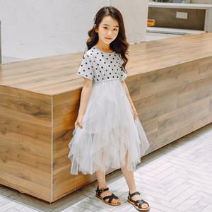 Çocuk Giyim Kız Giydirme Yaz Prenses Kostüm Yeni Kore-Stil Casual Dress