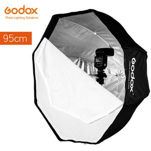 Godox 95 centímetros 37.5in portátil Umbrella Octagon Softbox flash flash Speedlite refletor Softbox com bolsa de transporte