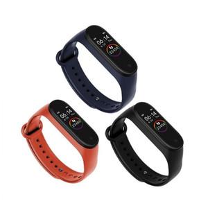 M4 스마트 밴드 4 심장 박동 혈압 팔찌 스포츠 Smartwatch 모니터 건강 피트니스 트래커 smart Watch Wristband PK M3