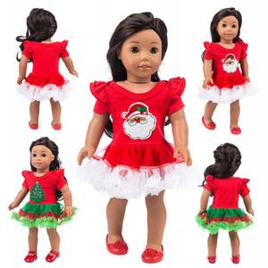 Vêtements Robe Fashion Fit avec American Girl Doll Dress 50cm Vêtements et Accessoires Robes Doll Cadeaux de Noël Poupées