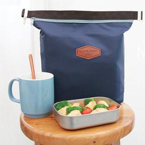 Oxford bez öğle İzotermik çantaları paket Buz paketi toptan folyo taşınabilir açık piknik paketleri alüminyum torbalar