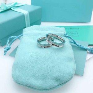 2020 ювелирные изделия женщин кольца 316 Titanium сталь Кольцо розовое золото серебро Женщины и мужчины обручальное кольцо с оригинальным
