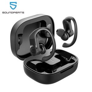 SOUNDPEATS TrueWings Wahre Wireless-Earbuds Over-Ear-Hooks Bluetooth Kopfhörer 5.0 in-Ear-Stereo-Funkkopfhörer mit Touch Control IPX7