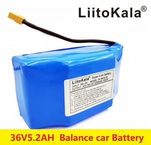 """18650 LiitoKala 36V 5.2Ah 5200mAh высокой сливную 2 колеса электрический самокат самобалансировани литиевых батарей для самобалансирующейся Подходит для 6.5"""""""