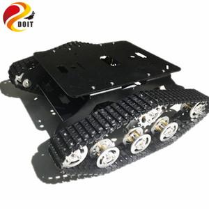 Ударопоглощение Metal гусеничный робот Tank шасси автомобиля TSD300 с Robot Arm интерфейса Отверстие для модификации RC игрушки DIY