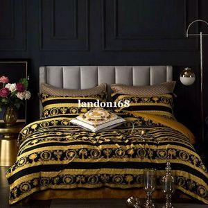 estilo europeo de lujo juegos de cama palacio de estilo 60 de fibra larga de suministros Beding sábanas de algodón de cuatro piezas de gama alta conjunto