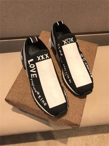 2019 Nouvelle arrivée D Sorrento Sneaker Hommes Femmes Chaussures Casual Slip-on Race Knit Runner Sport Cheap Roi Of Love luxe Designers avec la boîte