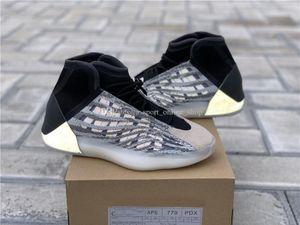 Newest Quantum Basketball Shoes EG1535 Black Zebra Kanye west 3M Sneakers Sports Reflective Sport ssYEzZYYEzZYs v2 350boost