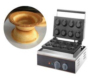 Freies Verschiffen elektrische 8 Stück Runde Gebäck Egg Tart Hersteller Tartaletek Törtchen Törtchen Pie Maker Eisen Bake