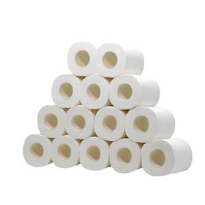 2020 Toliet papel 14 piezas rollos de repuesto huecos tejidos toallas de papel desechables servilletas para cocina baño restaurante