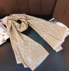2020 высокое качество классический шелковый шарф модный женский декоративный шелковый шарф весна и лето печати шаль размер 180 * 70 см Бесплатная доставка * 001