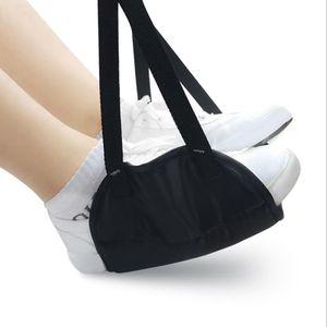 Comfy Hanger pied hamac mousse à mémoire Pied de repos Chaise hamac Bureau Accueil Voyage en plein air Pieds intérieur Reposez Sacs de couchage