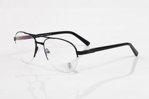 буйволиный рог оптические очки полукадра gafas óculos двойной мостик пилот авиатор очки в классическом стиле джентльмен дизайнер очки