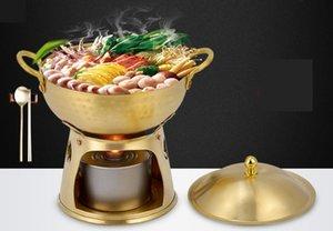 Pirinç sıcak Pot Bakır Çorbası Pot 071