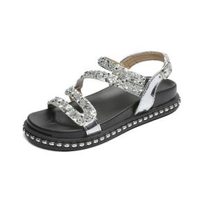 Горячая распродажа сандалии сандалии Mujer 2018 сандалии студентов плоские сандалии женские туфли на платформе летние сандалии глади обувь Zapatos Mujer