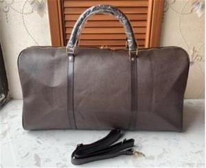 hommes duffle femmes sac de voyage sacs Voyage sac design de luxe bagage à main hommes sacs à main en cuir PU grand sac fourre-tout corps croix 55cm