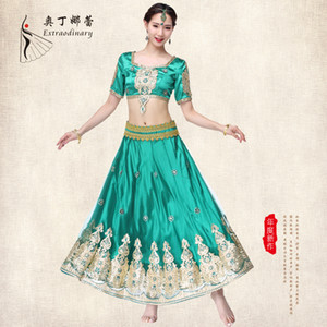Odin Narelle Belly Dance Show Serve India Bollywood prestazioni Serve Giacca adulti Will Pendulum Gonna Suit