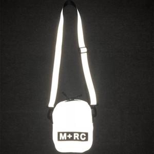 2019 paquetes de teléfono Nuevo M RC NOIR Patinetas Bolsa atractivo lindo casual para hombre del bolso de hombro móvil bolsa de almacenamiento reflectante Bolsas Messenger