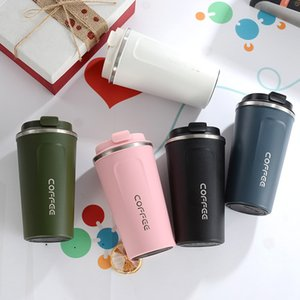 510ml Stainless Steel Coffee Cup Vacuum Insulation Coffee Mugs Car Thermos Cup Outdoor Travel Drinking Bottle