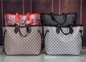 2019 styles Handbag Famous Name Fashion Leather Handbags Women Tote Shoulder Bags Lady Leather Handbags Bags purse 1802