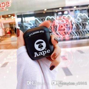 2020 новый дизайн высокого качества AirPod Беспроводная гарнитура Bluetooth Обложка компании Apple AirPods 1-2 Полная защита A001