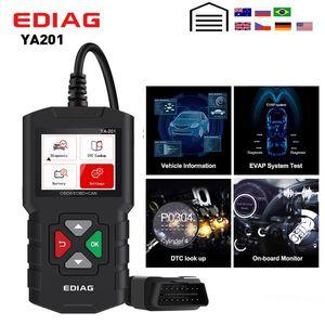 EDIAG YA201 OBD2 code reader OBD 2 YA201 auto Reader Upgrade Via USB FREE Lifetime OBDII Car Diagnostic Tool PK CR3001 AL319