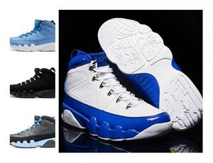 с коробкой 9 Антрацит черный Медь Статуя Baron Charcoal Джонни Kilroy синий Mens Basketball обувь Дешевые 9S IX Кроссовки 7-13