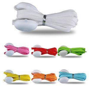 LED Light Up Lacets avec Party coloré clignotant Disco Light Up Glow sangle en nylon pour 100pcs danse Hip-hop Night Party (50 paires)