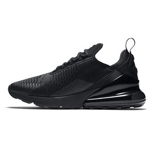 Nike Air Max 270 airmax shoes Hot novos sapatos sapatilhas do desenhista Coach Road do ferro da estrela Elf unisex sapatos casuais 36-45