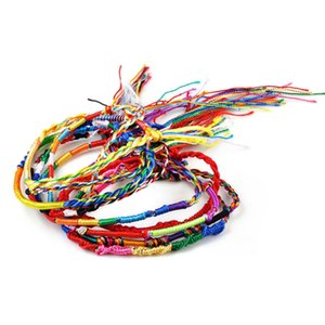 10 piece set of hand-woven colorful rope woven rope bracelets Dragon Boat Festival bracelet girl handmade small gifts