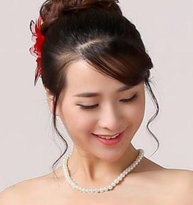 El más barato de boda nupcial collar de perlas artificiales del envío del nuevo lujo También para el partido de baile formal