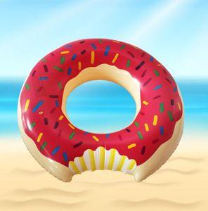 Estate di sport acquatici galleggianti gonfiabili tubi bambini Donut Piscina piscina giocattolo nuotata estiva anello per l'acqua giocattolo del bambino in sella a galleggiante