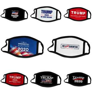 Protective Hot Sale Luxury Designer Máscara Trump Máscara Facial ultravioleta-prova contra pó Equitação Ciclismo Sports Imprimir Boca Máscaras Mulheres Outdoo
