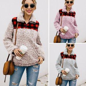 Frauen Winter warm Teddybär-Pelz-Fleece-Jacken-Mantel Aufmaß Fluffy Outwear New