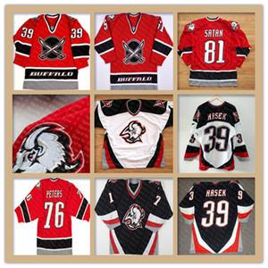 Buffalo Sabres Vintage 48 Daniel Briere 39 Dominik Hasek 29 Jason Pominville 9 Derek Roy Jason Woolley Brian Campbell Curtis Brown Jerseys
