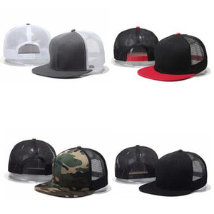 Fashion Truck Hats Mesh Men Women Blank Plain Designers Dad Baseball Cap Driver Sport Snapback Caps Camo Casual Trucker Hat Online