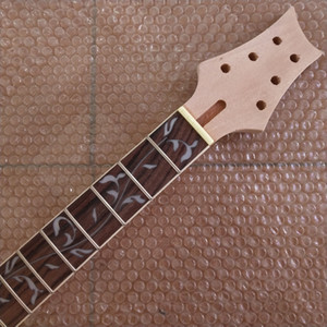 Unfinished Guitar Neck mahogany 22 Fret Parts for PRS style bolt on neck