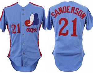 Montreal Expos 21 Scott Sanderson 10 Andre Dawson 12 Jim Mason 14 Pete Rose 24 Tony Perez 27 Vladimir Guerrero 30 Tim Raines Baseball Jersey