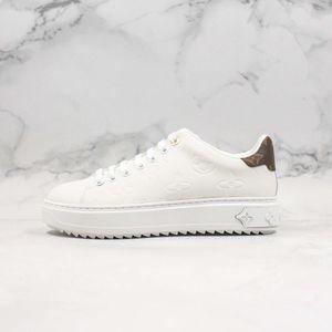 New Time Out Sneakers Low Cut-Plattform der Frauen Designer Herren-Schuhe für Frauen Tripler Sport Leder Casual Luxury Sneaker Turnschuhe Größe 35-44