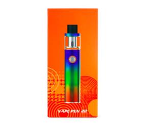 VAPE PEN 22 Kit With Built-in 1650mah Battery One Button Design Two Air Slots Micro-USB Port Vape Pen 22 Kit DHL free shipping