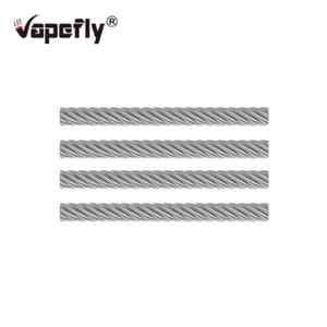4 unids Vapefly SS Cable para Vapefly Brunhilde RTA e cigs Vaping RDA RDTA RTA Atomizador Repuesto Reposición Automática de cigarrillos electrónicos