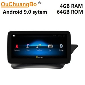 Ouchuangbo Qualcomm MSM8953 android 9.0 B W246 B180 RHD right driving car audio radio gps stereo DSP split screen car dvd