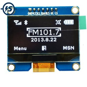 "Freeshipping 1.54 ""1.54 pollici OLED bianco display modulo 128x64 SPI IIC I2C interfaccia schermo OLED 3.3-5 V UART"