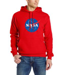 НАСА кашемировый свитер Мужчины Марка Одежда мужская Свитера Печать Повседневная рубашка Осень Шерсть пуловер Мужчины O-Neck Толкай Homme Вверх