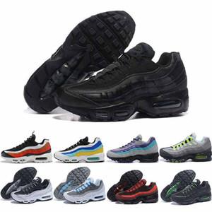 Migliori 2.020 uomini Triple neri Pattini in corso Chaussures Bred Neon impianto solare Laser traspirante Università Blu Mens Trainer Sneakers Eur 36-46