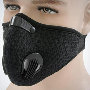 Respirador antiniebla Filtro de mascarilla de boca para bicicleta Bicicleta Ciclismo Senderismo # 8
