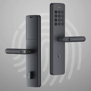 Handle Xiaoda eletrônico Fingerprint Intellgent porta com bloqueio Keyless digitais inteligentes Fechaduras Disponível para Mijia APP