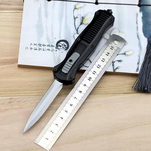 Mini Kâfir çift eylem bıçak 3350 D2 çelik mızrak noktası EDC cebi taktik ekipman naylon kılıf yaşam bıçak