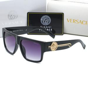 4368 óculos de sol de alta qualidade óculos de design de moda sol unisex charme de luxo grande sombra moldura quadrada óculos rosto bonito eyewear